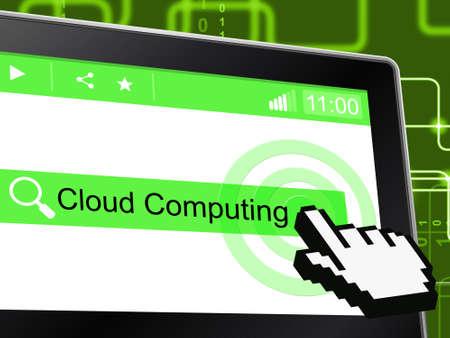 tecnologia informacion: Cloud Computing Significado Tecnolog�as de la Informaci�n y ordenador