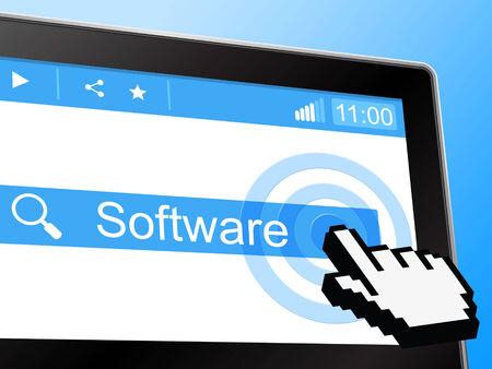 shareware: Software Online Indicating World Wide Web And Website