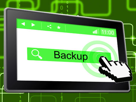 archiving: Online Backup Meaning World Wide Web And Data Archiving