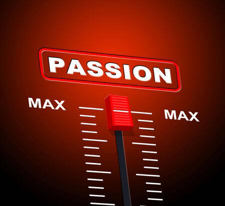 deseo sexual: Pasi�n Max Significado deseo sexual y Top Foto de archivo