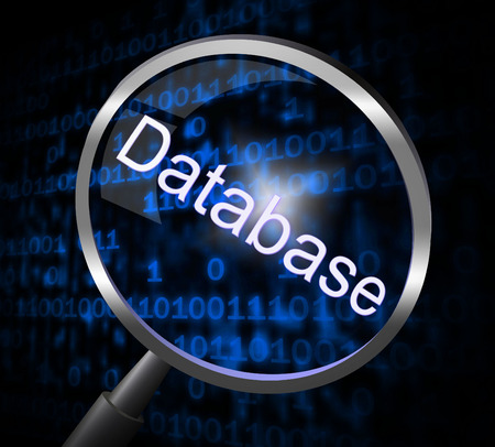 megabyte: Databases Magnifier Meaning Search Searches And Megabyte