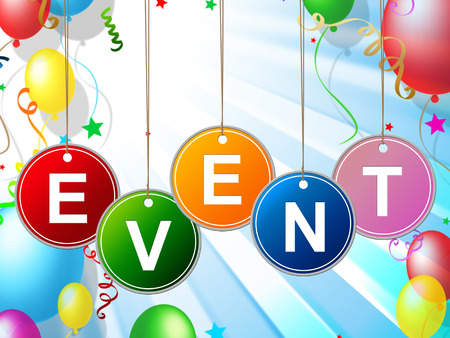happenings: Events Event Showing Functions Affairs And Situation Stock Photo