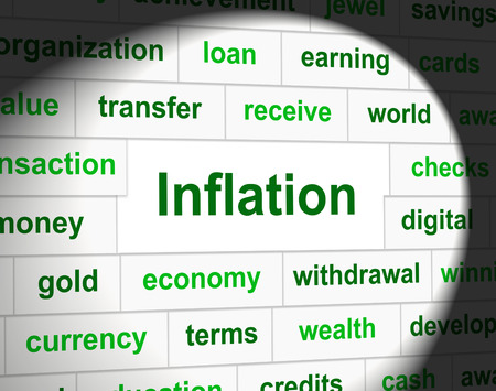 fiscal: Finance Inflation Indicating Fiscal Rise And Growth