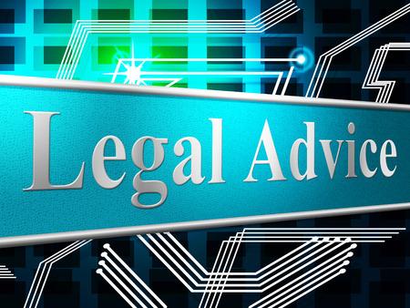 asesoria legal: Aviso Legal Mostrando Ley Legalidad y Asistencia