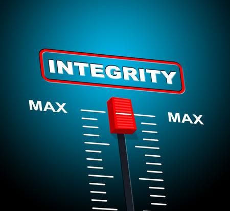 Max Integrity Representing Upper Limit And Peak