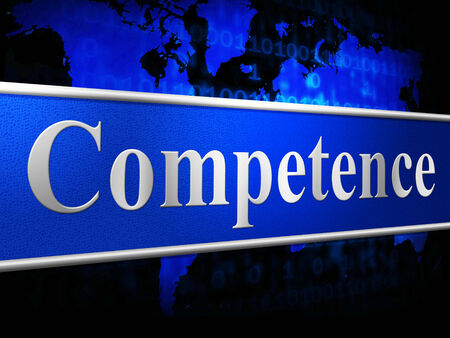 adeptness: Competent Competence Meaning Mastery Proficiency And Skill