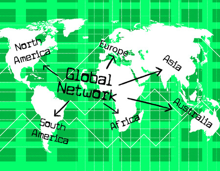 globally: Global Network Indicating Computer Digital And Globally