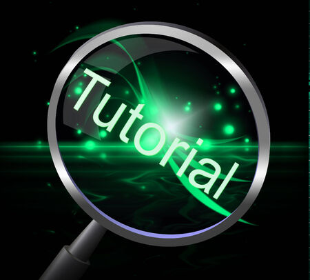 tutorials: Tutorial Magnifier Representing Learning Tutoring And School