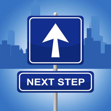 the next step: Next Step Forward Significato progressione e Pianificazione