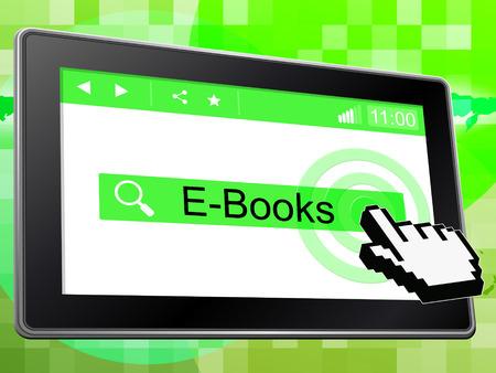 e books: E Books Indicating World Wide Web And Website