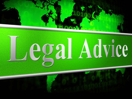 legally: Legal Advice Indicating Helping Solution And Answer