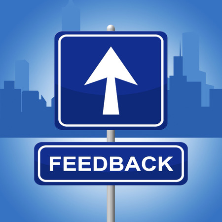 commenting: Feedback Sign Representing Response Commenting And Evaluate