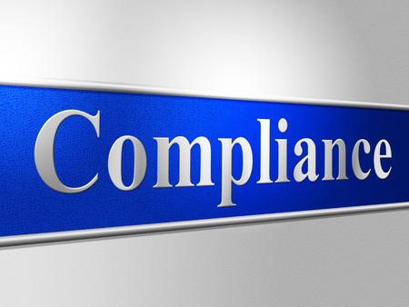 complied: Agreement Compliance Representing Laws Obedient And Conform