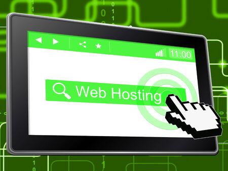 Web Hosting Showing Websites Www And Website photo