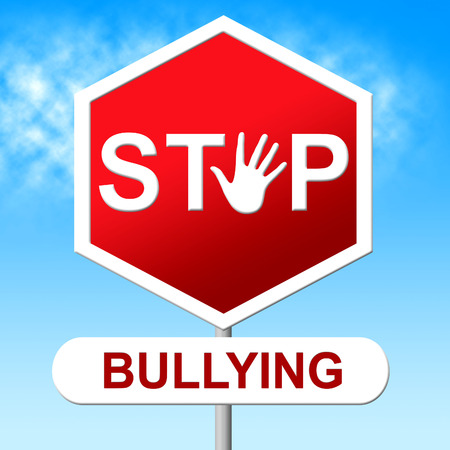oppress: Stop Bullying Indicating Push Around And Harassment