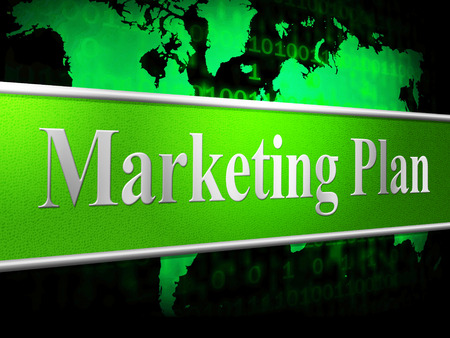 programme: Marketing Plan Representing Formula Programme And Schedule Stock Photo