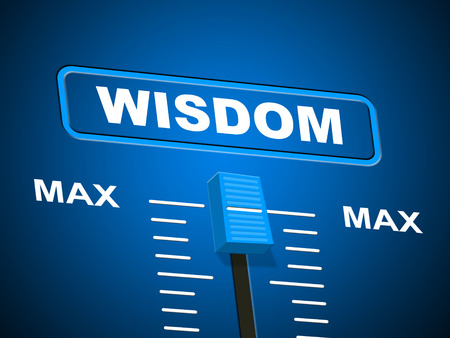 smartness: Wisdom Max Representing Intellectual Capacity And Utmost