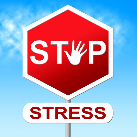 pressured: Stress Stop Meaning Warning Sign And Prohibited