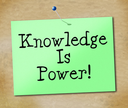 lernte: Wissen ist Macht Bedeutung gelernt Lernen und Schule