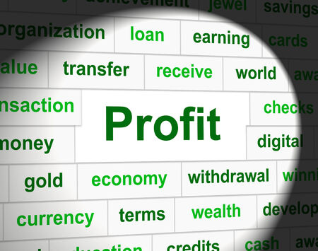 earns: Profit Revenue Representing Earnings Employed And Earn