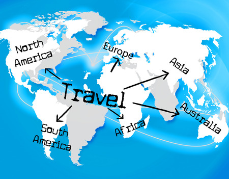 globally: Worldwide Travel Meaning Touring Globalization And Globally