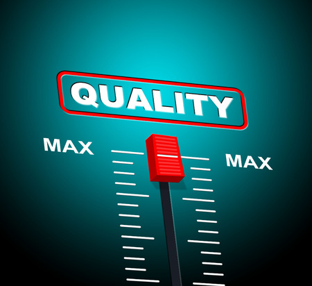 max: Max Quality Representing Excellent Approved And Maximum Stock Photo