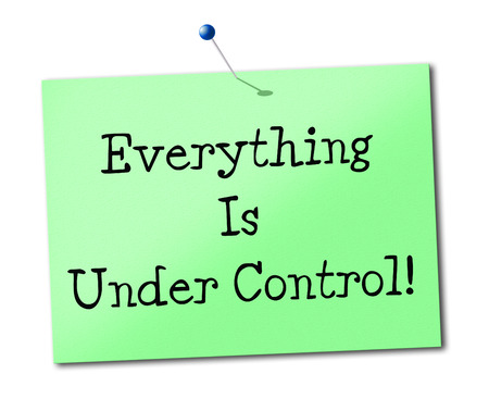 under control: Under Control Representing Structured Manage And Arrange