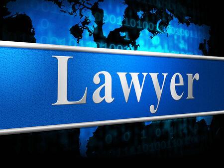 giurisprudenza: Avvocato Indicando Corte Giurisprudenza e giustizia Archivio Fotografico