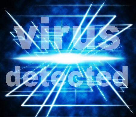 detects: Virus Detected Meaning Detects Find And Antiviral