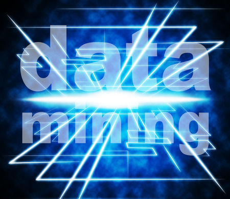 fact: Data Mining Indicating Fact Knowledge And Investigate Stock Photo