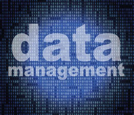 事実及び事実を表す管理データ