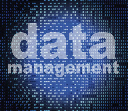 Management Data Representing Fact Directors And Facts Banque d'images