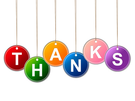 thankfulness: Thank You Indicating Message Thankfulness And Thanks Stock Photo