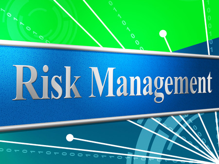 peril: Management Risk Showing Company Peril And Dangerous