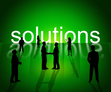 resolve: Business Solutions Indicating Solve Resolve And Corporation