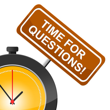frequently: Time For Questions Meaning Questioning Frequently And Asked