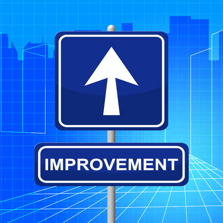evolve: Improvement Sign Meaning Upgraded Growth And Evolve