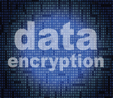 Data Encryption Showing Code Cipher And Fact Imagens