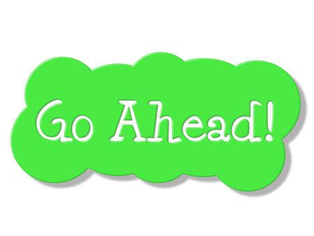 seguir adelante: Go Ahead Mostrando Comienzo r�tulos y displays