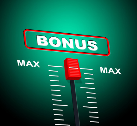 perk: Max Bonus Meaning Upper Limit And Bonuses Stock Photo