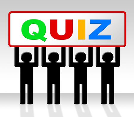 Test Quiz Meaning Questions And Answers And Puzzle photo
