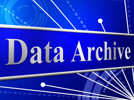 data archiving: Data Archive Representing File Transfer And Drive