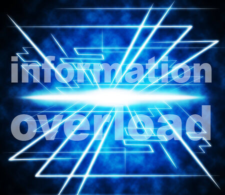 Data Overload Meaning Burdened Info And Bytes