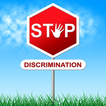 Discrimination Stop Meaning One Sidedness And Favoritism