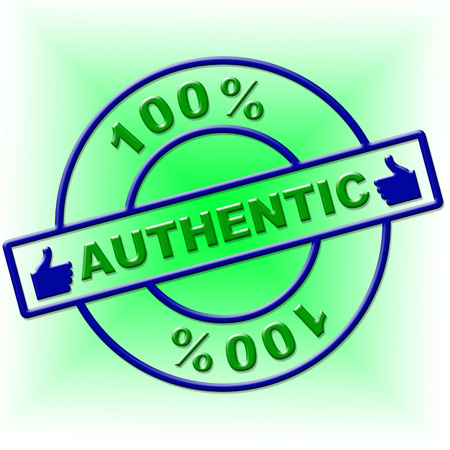 attested: Hundred Percent Authentic Showing Bona Fide And Attested