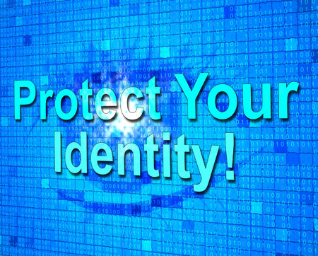 unauthorized: Protect Your Identity Showing Personality Protected And Unauthorized