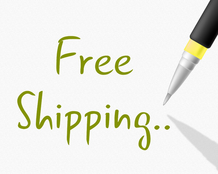 compliments: Free Shipping Meaning With Our Compliments And Gratis