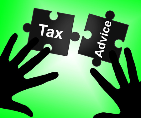 Tax Advice Showing Taxes Advisory And Faq photo