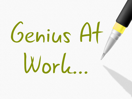 comprehension: Genius At Work Meaning Intellectual Capacity And Comprehension