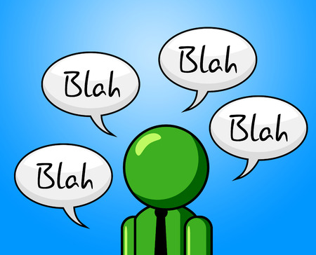 confab: Blah Conversation Meaning Chit Chat And Consultation
